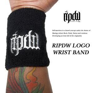 ripdw RIPDW LOGO WRIST BAND WHITE ロゴ リストバンド ホワイト リップデザインワークス|archrival