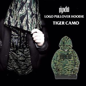 ripdw LOGO PULLOVER PARKA TIGER CAMO ロゴ プルオーバー パーカー タイガーカモ リップ デザイン ワークス|archrival