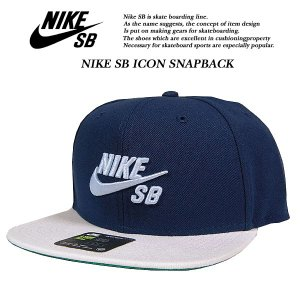 NIKE SB ICON SNAPBACK CAP OBSIDIAN|archrival
