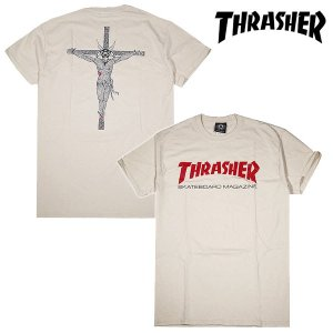 Thrasher RESURRECTION T-SHIRT Tシャツ NATURAL ナチュラル 生成 スラッシャー|archrival