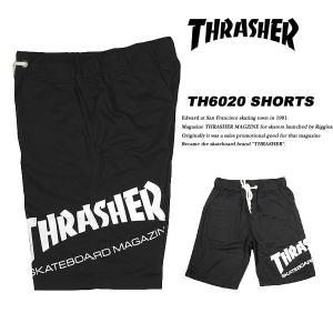 THRASHER SMOOTH SHORTS BLACK スムース ショートパンツ ブラック スラッシャー|archrival
