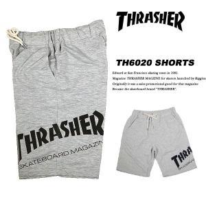 THRASHER SMOOTH SHORTS GRAY スムース ショートパンツ グレイ スラッシャー|archrival