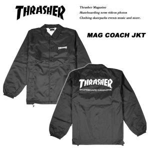 Thrasher MAG LOGO COACH JACKET マグ ロゴ コーチ ジャケット スラッシャー archrival