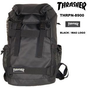 Thrasher THRPN-8900 BackPack バックパック BLACK / MAG LOGO スラッシャー|archrival