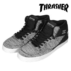 Thrasher BUCHANAN DOG GREY/BLK KNIT スラッシャー|archrival
