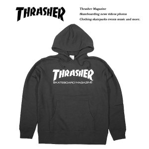 THRASHER MAG HOODIE BLACK|archrival