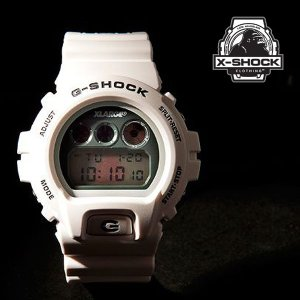 X-Large X-LARGE x G-Shock DW6900 WHITE CASIO|archrival