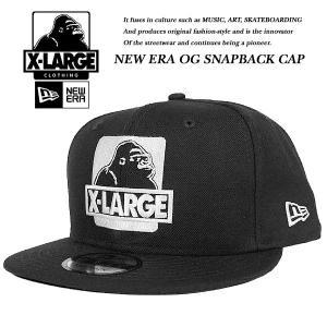 X-Large NEWERA OG SNAPBACK CAP BLACK ニューエラ オージー スナップバック キャップ ブラック 黒 エキストララージ|archrival