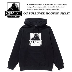 OG PULLOVER HOODED SWEAT BLACK|archrival