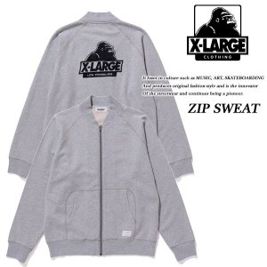 ZIP SWEAT GREY|archrival