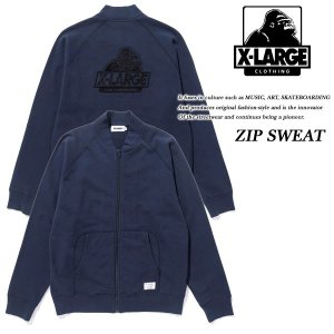 ZIP SWEAT NAVY|archrival