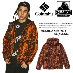 X-LARGE x Columbia DECRUZ SUMMIT XL JACKET|archrival