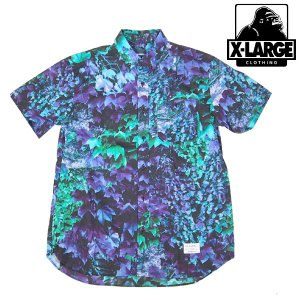 X-Large IVY CAMO S/S SHIRT PURPLE エキストララージ|archrival