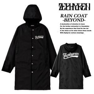 Zephyren RAIN COAT -BEYOND- BLACK レインコート ビヨンド ブラック ゼファレン|archrival