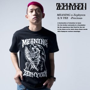 MEANING x Zephyren S/S TEE -Precious- 半袖 Tシャツ ゼファレン|archrival