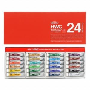 ホルベイン 透明水彩絵具 W405 24色セット|アークオアシスPayPayモール店