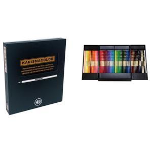 サンフォード カリスマカラー 色鉛筆 48色セット (SANFORD KARISMA COLOR)