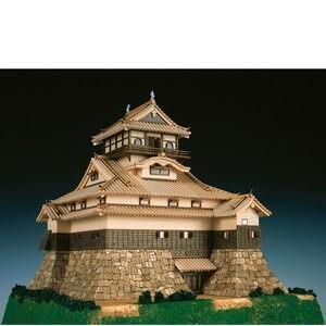 ウッディジョー木製建築模型1/150犬山城