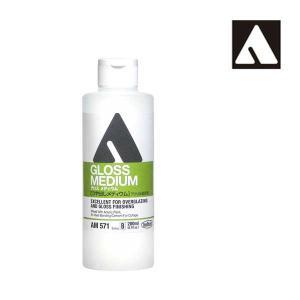 ホルベイン アクリリックメディウム AM571 200ml グロスメディウム 14571