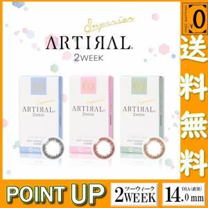 2箱セット アーティラル カラコン スペリア 2week 1箱6枚 度あり 度なし 14.0mm ARTIRAL Siperior オークル ブラウン ブラック|arcoco