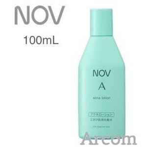 NOV(ノブ) A アクネローション  (にきび肌用化粧水) 100mL【定形外郵便発送】