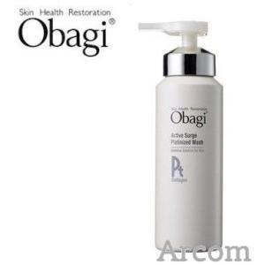 Obagi オバジ アクティブサージ プラチナイズドムース ウォッシュ 150g  (炭酸泡洗顔) arcom-shop