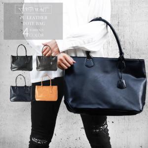 トートバッグ メンズ カバン 鞄  かばん レザー 革 ビジネス 仕事用 旅行 デイリーの画像