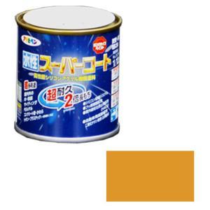アサヒペン 水性スーパーコート 1/12L シトラスイエロー ※取寄品