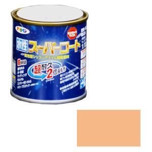 アサヒペン 水性スーパーコート 1/12L ティントローズ ※取寄品