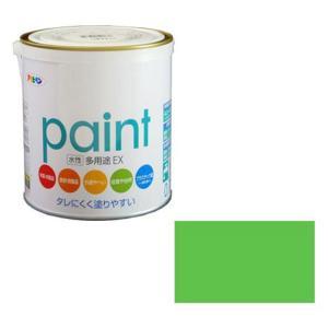 アサヒペン 水性多用途EX 0.7L フレッシュグリーン ※取寄品
