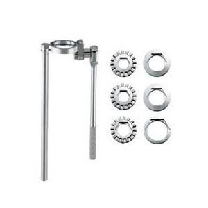 立形金具しめつけ工具セット(ラチェット式)  仕様 材質:鋼 ラチェット式により、作業がスピーディー...