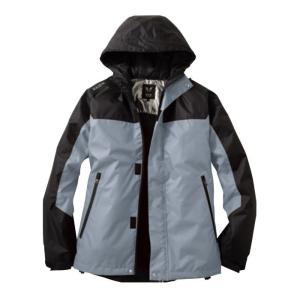 サンエス 雷神 防水防寒ジャケット 6グレー サイズXL 服地のみ 取寄品 BO31800-6-XL