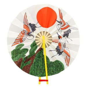 アルデ オキナ 上棟セット用扇のみ 鶴と日の丸 arde3116020b|arde
