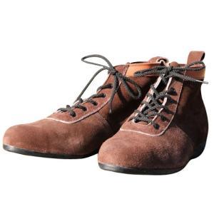 椿モデル 安全靴 ショートタイプ 茶 24.5cm (L52...