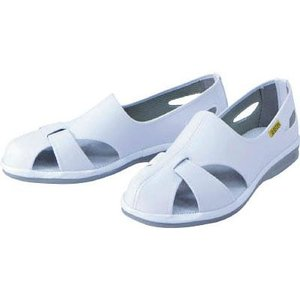 ミドリ安全 静電作業靴 エレパスクール 23.5cm ELEPASSCOOL23.5