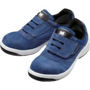 ミドリ安全 スニーカータイプ安全靴(マジックタイプ)G3555 23.5cm G3555BL23.5