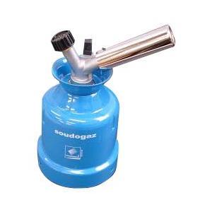 低重心ボディで両手の作業も安心! ワンタッチ自動点火。 逆さ使用可能。 *ガスカートリッジは別売りで...