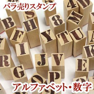 ゴム印 スタンプ はんこ ステンシル アルファベット 数字 記号 ゆうパケット便対応