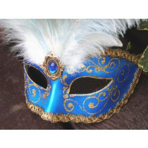 仮面 コスプレ ベネチアンマスク フェザー195c  変装 仮装 仮面舞踏会 マスク 着後レビューで送料無料(ハロウィン  アイマスク )|area27