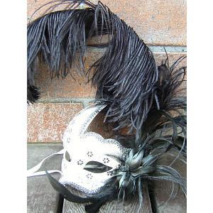 仮面 コスプレ ベネチアンマスク フェザー215  変装 仮装 仮面舞踏会 マスク (ハロウィン  アイマスク )|area27