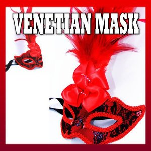 仮面 コスプレ ベネチアンマスク フェザーレース227  変装 仮装 仮面舞踏会 マスク (ハロウィン  アイマスク )|area27