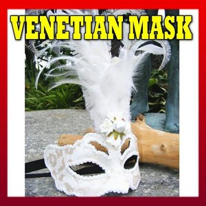 仮面 コスプレ ベネチアンマスク フェザーレース229  変装 仮装 仮面舞踏会 マスク (ハロウィン  アイマスク )|area27