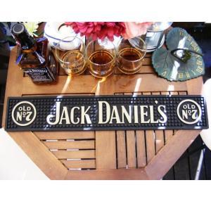 ジャックダニエル バーマット ラバーマット JACK DANIEL'S (バーグッズ bar 男前 インテリア 雑貨)|area27