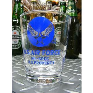 USAF ミリタリーグラス (U.S.AIR FORCE) (マグカップ ドリンク 食器 カフェ)|area27