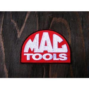 ワッペン パッチ おしゃれ かっこいい エンブレム アイロンシール(車 クルマ バイク オートバイ  アメリカン 雑貨)マックツール(MAC TOOL) area27