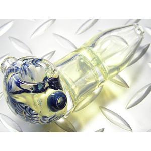 ガラスパイプ Wチャンバ60 (喫煙具 たばこ)|area27