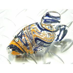 ガラスパイプ GDフィッシュ62 (喫煙具 たばこ)|area27