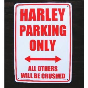 ハーレーのプラサインです。自分のバイクの横に貼っちゃってください。メタル製に比べ安価だからゲットしや...