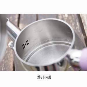 2段式ティーポット IH ヤカン ケトル チャイダンルック ステンレスチャイポット  (トルコティー チャイグラス  紅茶 お茶 ギフト)|area27|05