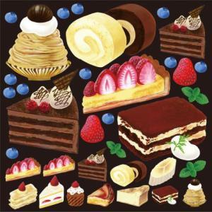 デコレーションシール4934 アクリル絵の具 ケーキ2|area27